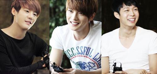 Junsu, Jaejoong & Yoochun
