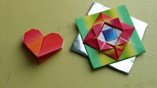 Origami giftie